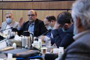 جلسه شورای دانشگاه آزاد اسلامی قزوین با حضور دکتر طهرانچی