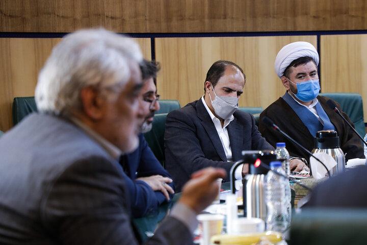 دیدار صمیمانه دکتر طهرانچی با مدیران گروه و مسئولان دانشگاه آزاد قزوین