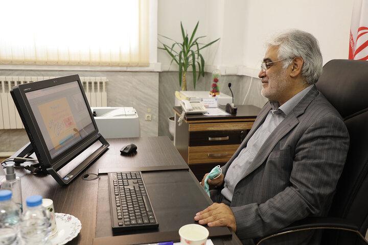 بازدید دکتر طهرانچی از طرح های فناورانه دانشگاه آزاد اسلامی استان گیلان