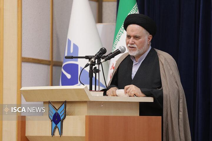 افتتاحیه دفتر تقریب مذاهب در دانشگاه آزاد اسلامی استان اردبیل