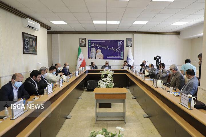 چهل و هشتمین جلسه شورای دانشگاه آزاد اسلامی استان اردبیل