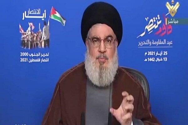 سید حسن نصرالله امید رژیم صهیونیستی را ناامید کرد