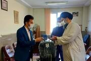 مراسم تکریم و معارفه مدیر تربیتبدنی و سلامت سما برگزار شد