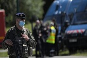 زخمی شدن سه پلیس فرانسوی با سلاح سرد مهاجمی
