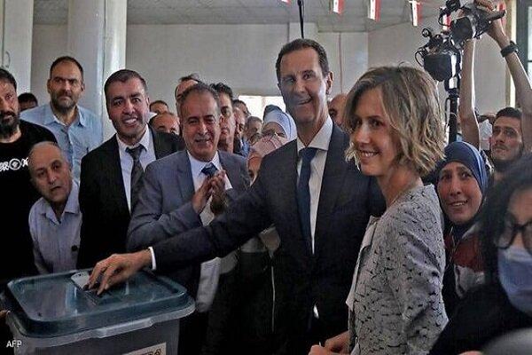 واکنش روسیه به پیروزی اسد در انتخابات سوریه