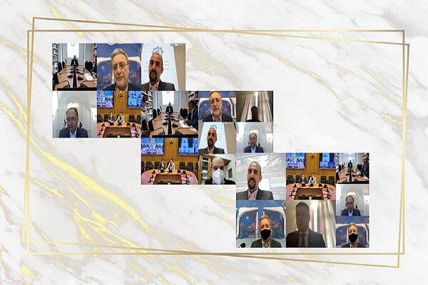 تفاهمنامه راه اندازی نمایندگی مجازی دانشگاه سنتپترزبورگ در دانشگاه تهران امضا شد