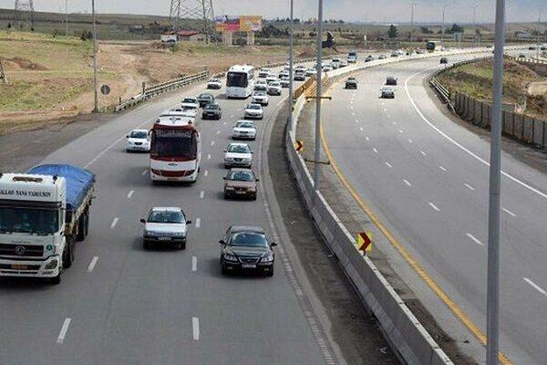 وضعیت جاده ها / تردد در محورهای برونشهری ۱۱.۱ درصد کاهش یافت