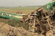 ۳۰ کشته در پی برخورد دو قطار در پاکستان