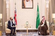 رایزنی وزیر خارجه انگلیس با ولیعهد سعودی درباره منطقه