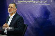 نشست خبری علیرضا زاکانی در خبرگزاری تسنیم