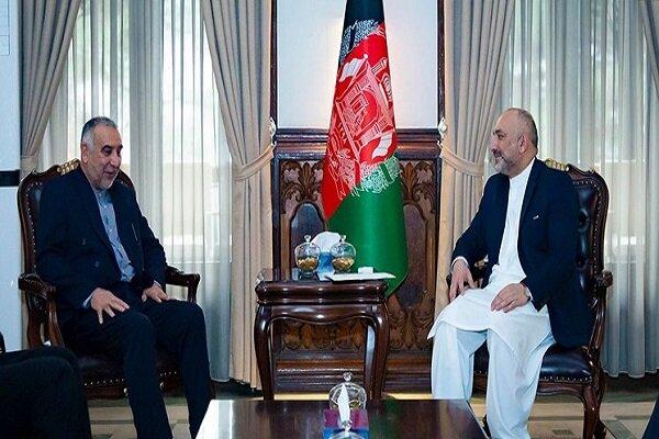 گفتوگوی تلفنی نماینده ظریف با وزیر خارجه افغانستان