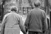 دختر و پسری که بعد از ۷۰ سال به هم رسیدند