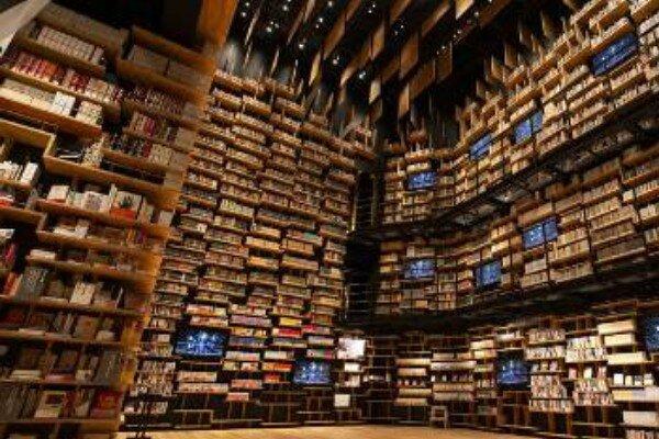 کتاب فروشیهای عجیب ژاپن + عکس
