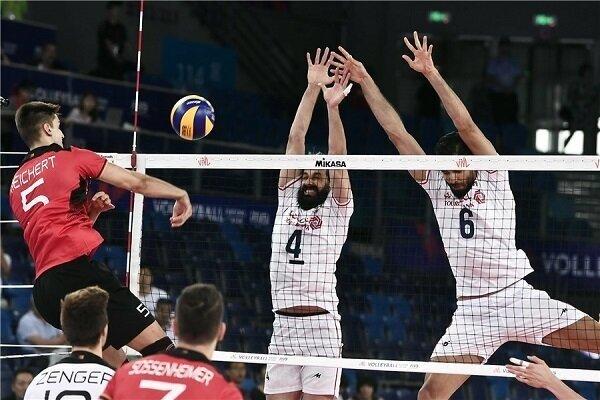 شکست تیم ملی والیبال ایران مقابل آلمان/ اشتباهات عجیب کار دست ایران داد