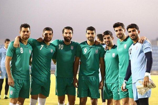 پیگیری تمرین تیم ملی فوتبال در هوای کاملا شرجی منامه