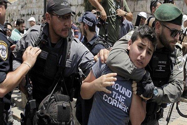 بازداشت ۳۱۰۰ فلسطینی در یک ماه گذشته