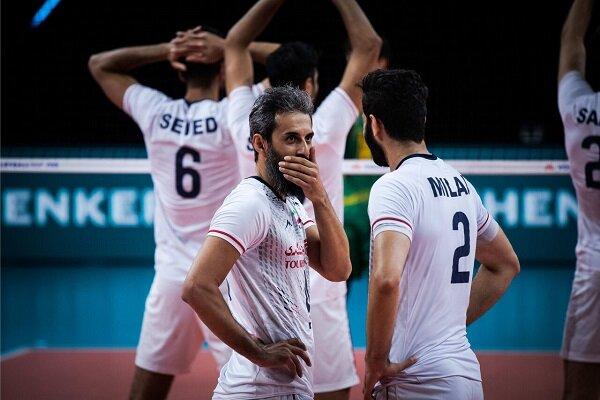 ایران در رده هشتم لیگ ملتهای والیبال قرار گرفت