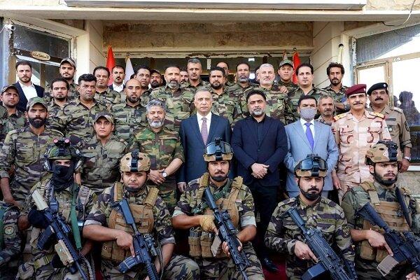 دیدار نخست وزیر عراق با فرماندهان حشد الشعبی سامراء
