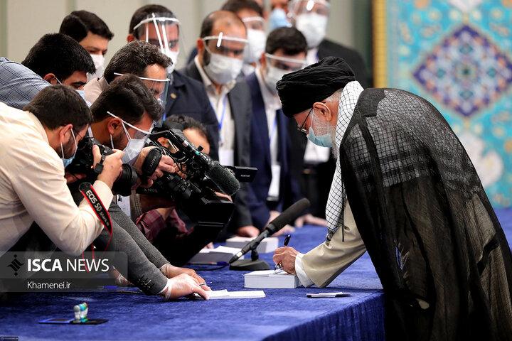 شرکت رهبر معظم انقلاب اسلامی در انتخابات ١۴٠٠