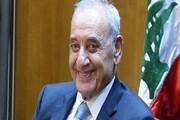 پیام تبریک رئیس پارلمان لبنان به رهبر انقلاب و آیتالله رئیسی