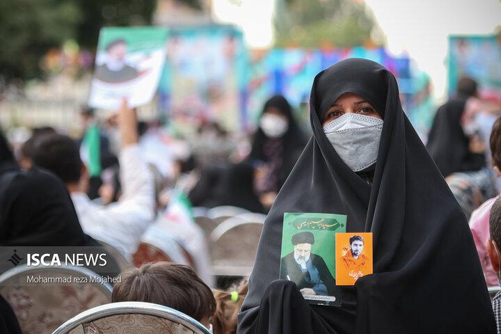 جشن پیروزی آیت الله رئیسی همزمان با دهه کرامت