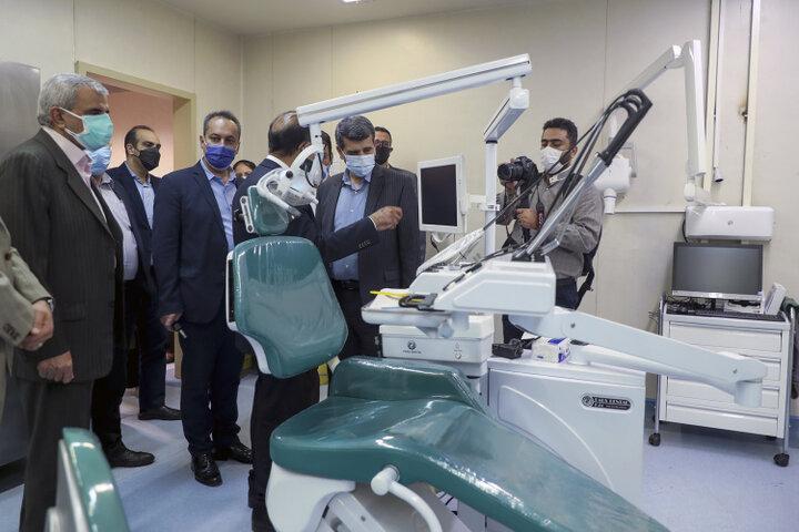 افتتاح درمانگاه دندانپزشکی و داروخانه اورژانس بیمارستان فرهیختگان
