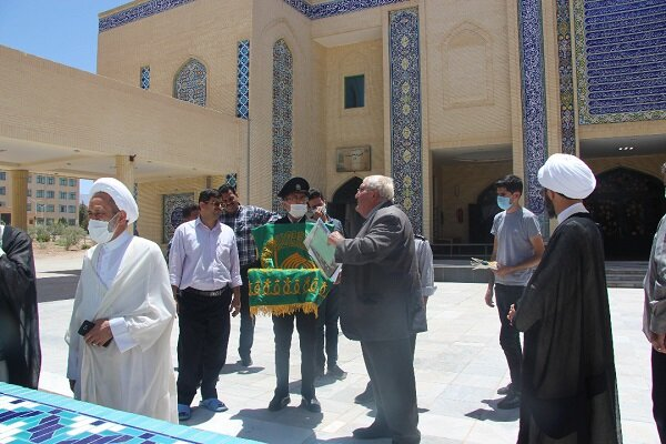 حضور خادمان حرم امام رضا(ع) در دانشگاه آزاد اسلامی واحد یزد