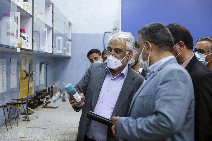 بازدید دکتر طهرانچی از دانشگاه آزاد اسلامی واحد هیدج
