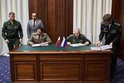 امضای توافق نامه نظامی میان قطر و روسیه