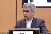 سفیر ایران در شورای حقوق بشر: ترور سردارسلیمانی تروریسم دولتی است