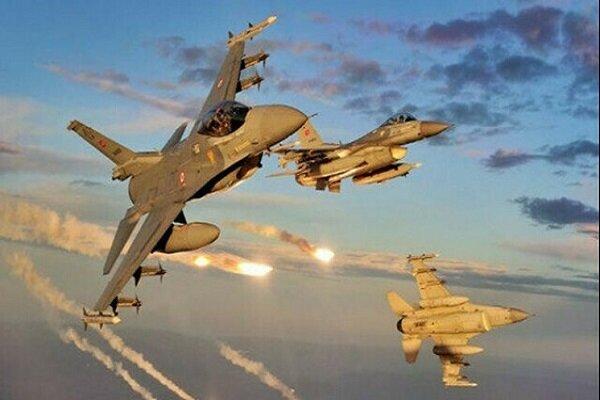 حمله هوایی ترکیه علیه مواضع «پکک»