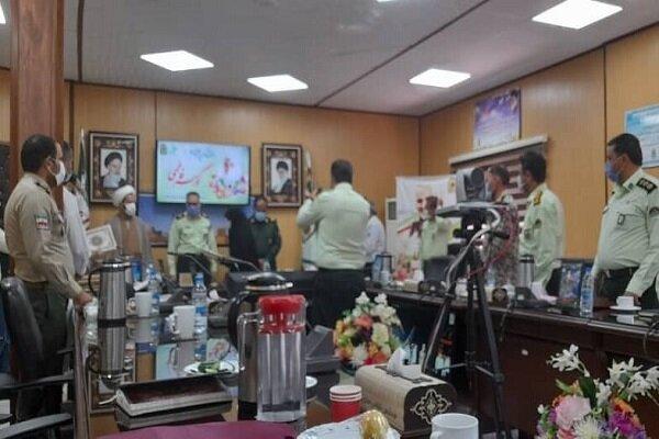 تجلیل فرماندهی انتظامی استان یزد از خدمات فرهنگی سما