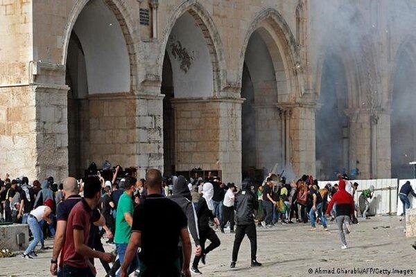 درگیری نظامیان صهیونیست با فلسطینی ها شدت گرفت