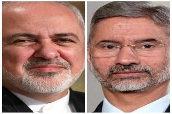 رایزنی وزرای خارجه ایران و هند درباره مسائل منطقه و افغانستان