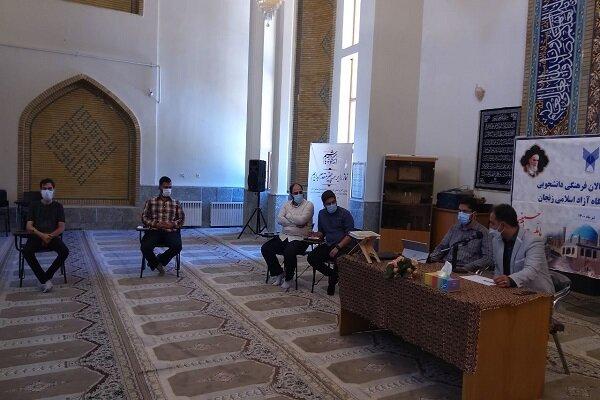 دیدار مدیرعامل خبرگزاری ایسکانیوز با فعالان دانشجویی واحد زنجان