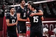 صعود والیبال ایران در ردهبندی جهانی