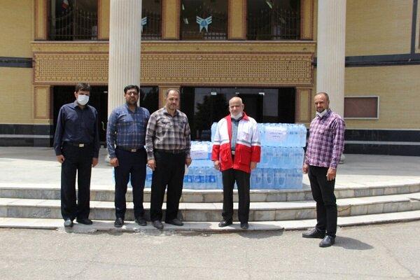 پویش نذر آب برای سیستان و بلوچستان در دانشگاه آزاد اسلامی نطنز