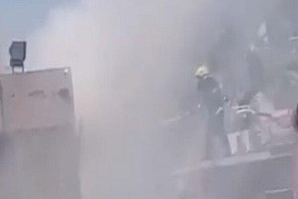 آتشسوزی در بیمارستانی در استان واسط عراق