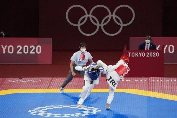 گزارش زنده المپیک/ صعود کیمیا علیزاده به نیمه نهایی