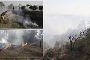 ۴ آتش سوزی در شهرکهای رژیم صهیونیستی