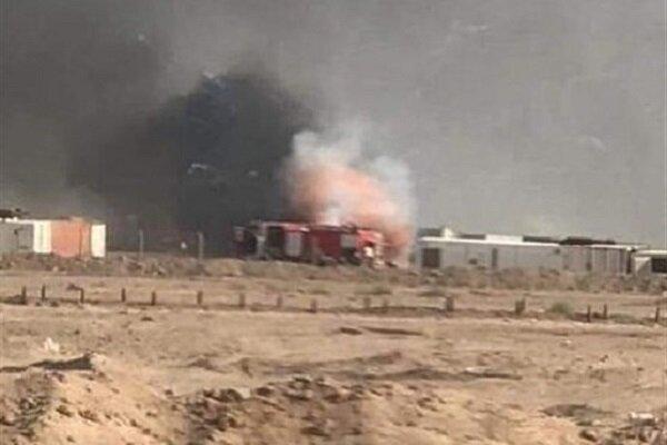 انفجار در زاغه مهمات الحشد الشعبی در جنوب عراق