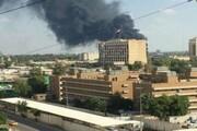 اصابت دو موشک به پایگاه آمریکا در بغداد