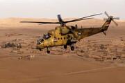سقوط بالگرد نظامی عراق با ۵ کشته