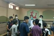 بازدید رئیسی از خانه کودکان کار یاسر