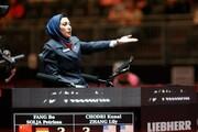 قضاوت بانوی ایرانی در نیمه نهایی المپیک