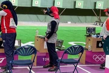 گزارش زنده المپیک  رقابت پرچم دار زن کاروان ایران با حریفان