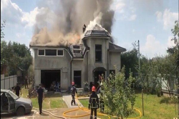 کشته شدن سه آمریکایی در پی سقوط هواپیما در اوکراین