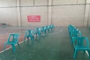 برپایی مرکز واکسیناسیون در دانشگاه آزاد اسلامی ورامین