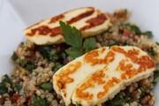 آموزش پخت تبوله با پنیر کبابی