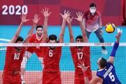 گزارش زنده المپیک| شکست تیم ملی والیبال ایران برابر ایتالیا